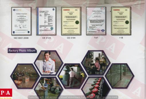 các chứng nhận về chất lượng sản phẩm của haru