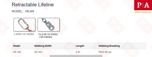 cấu tạo và thông số kĩ thuật của sản phẩm mã HE-6N (1)