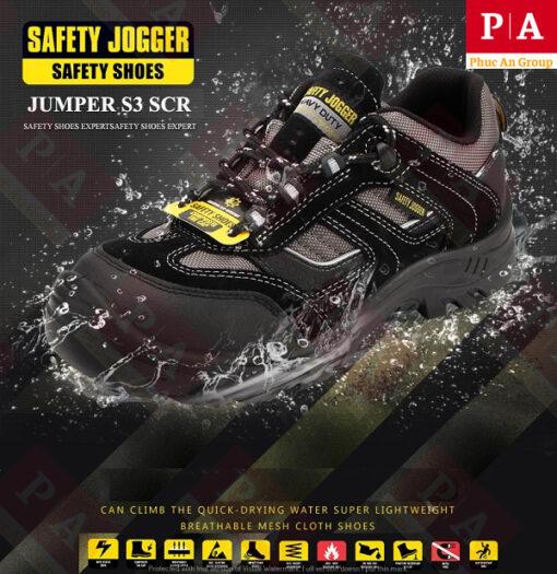 giày bảo hộ chống thấm jumper s3