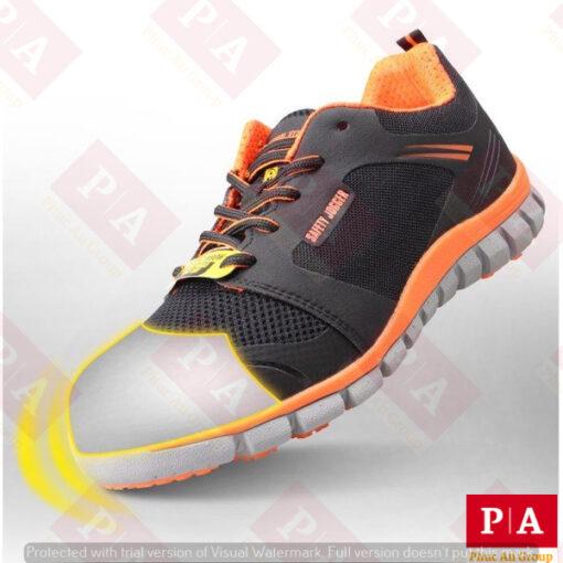 giày bảo hộ siêu nhẹ logero s1p màu cam (1)