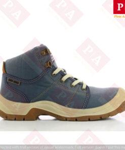 giày bảo hộ desrt s1p màu xanh da trời