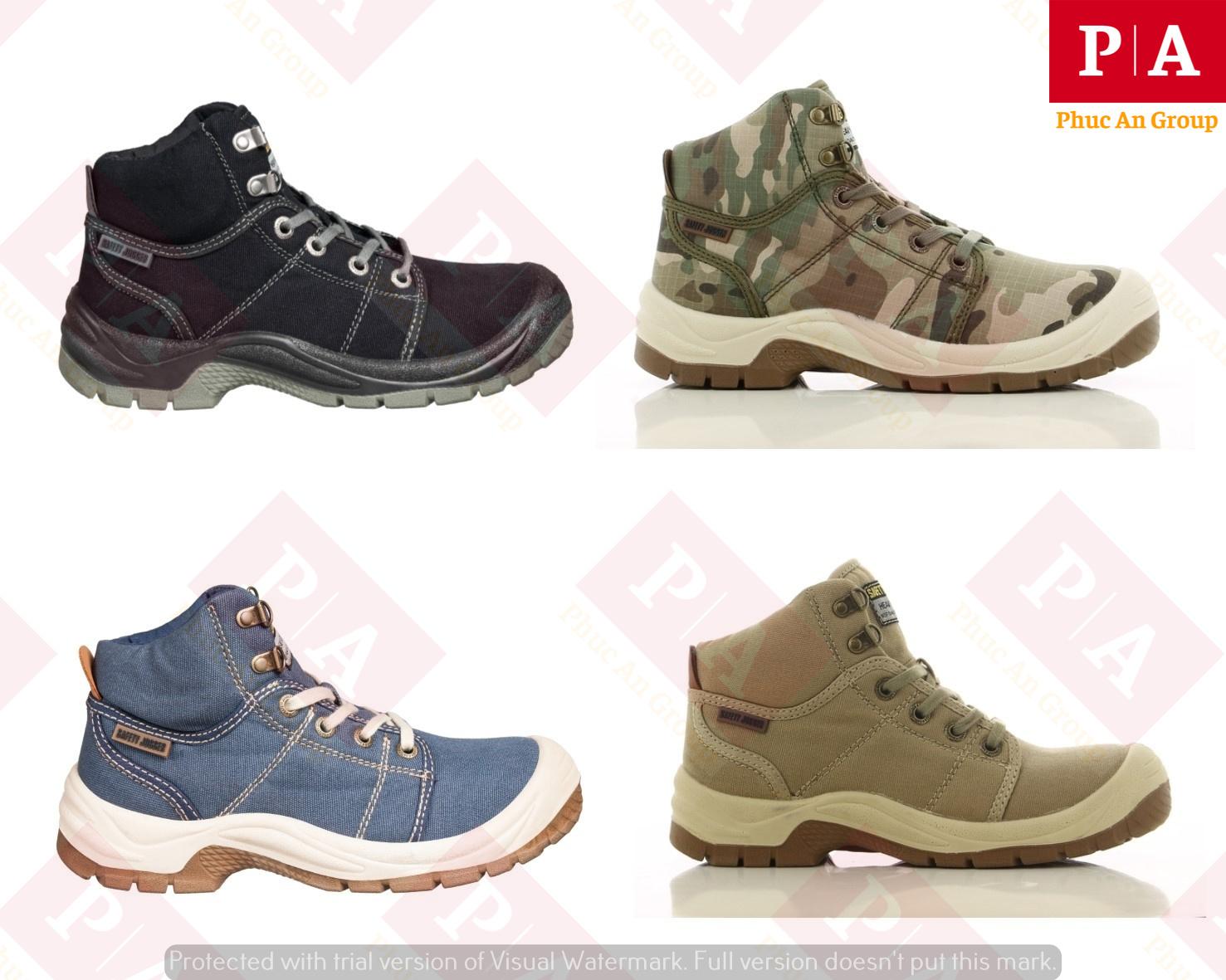 set giày bảo hộ jogger desert s1p